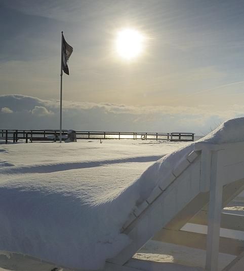 Vinter Ystad Saltsjöbad