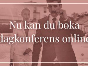 Boka dagkonferens online
